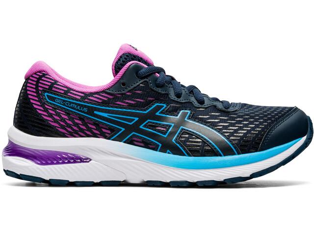 asics Gel-Cumulus 22 GS Shoes Kids, azul/rosa